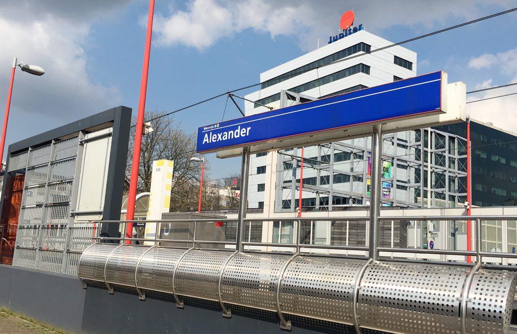 Start Verbouwing Begin : Grootschalige verbouwing station rotterdam alexander start begin
